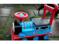 Ride on Thomas tank