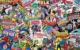 Marvel /Star Wars/ DC Comic collections : Wanted for Cash