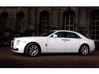 Rolls Royce GHOST, PHANTOM or Bentley Weddings Best Deals PRICE MATCH