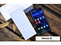 "Huawei Honor 8 4GB + 32GB 5.2"" Octa Core Android 6.0 Kirin 950 Smartphone Blue - Dual Camera"