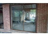 Sliding aluminium patio door 2mX2m