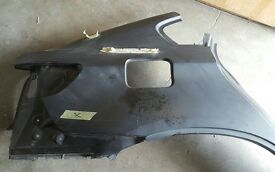 BMW X6 E71 E72 Rear Quarter Side Wing Panel - Right 41217182716