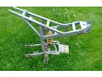 Mini moto dirt bike frame