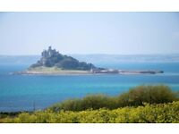 GORGEOUS HOUSE FOR 8 - AVAILABLE SUMMER 2018 NEAR ST MICHAEL'S MOUNT, WEST CORNWALL.