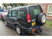 Land rover discovery 4.0 v8 swap van? Car?