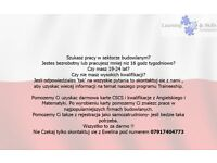Free CSCS and help to find a Construction job (Polish version)