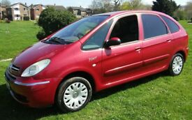 2004 CITREON XSARA PICASSO ESTATE VAN 1.6 DESIRE 1 YEARS MOT CHEAP TAX VERY ECONOMICAL