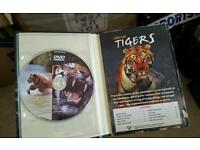 Book dvd swamp tigers animal wild