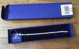 Genuine Swarovski Chrystal Tennis Bracelet