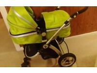 Isafe travel system and car seat