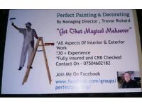 PERRFECT PAINTING & DECORATING