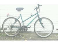 Ladies bike, ready to go