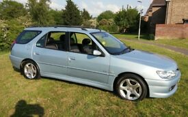 2001 PEUGEOT 306 ESTATE 1.8 MERIDIAN 1 YEARS MOT VERY ECONOMICAL CHEAP INSURANCE & TAX