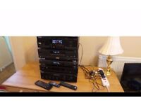 Stereo Stack System For Sale,Excellent Condition 07448733546
