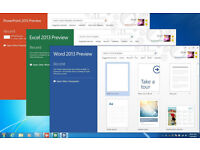 MICROSOFT OFFICE PRO SUITE 2013 for PC...