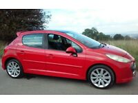 2006 PEUGEOT 207 GT HDI 1.6 DIESEL LX 1 YEARS MOT & CHEAP TAX & INSURANCE FULL SERVICE HISTORY
