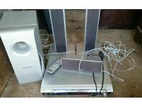 Panasonic surround sound with remote