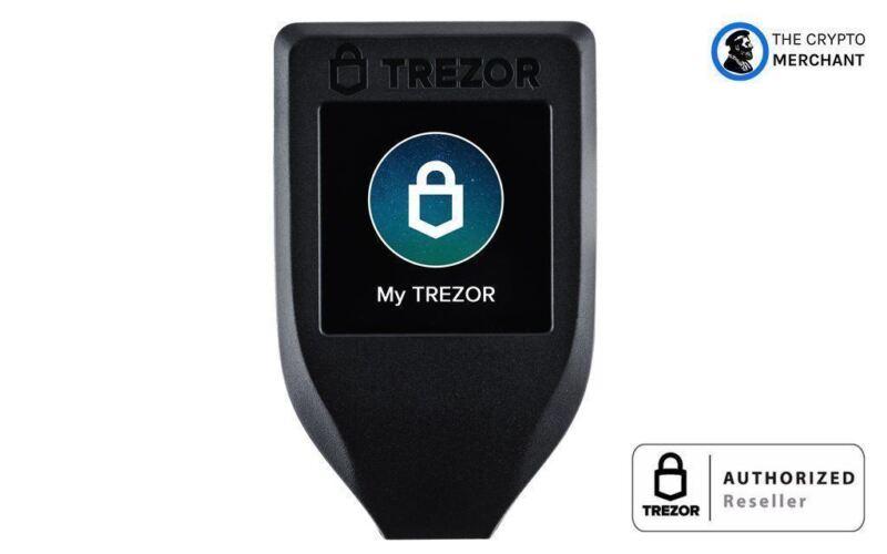 Trezor Bitcoin Ethereum Hardware Wallet Model T (OPEN BOX)