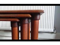Danish Teak Nest Of three tables,can deliver