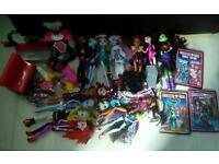 Collection of monster high