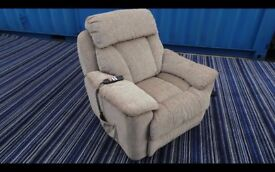 As New! electric reclining/rising chair. Excellent condition, full working order,Can Deliver