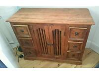 Wooden chest of drawers/cabinet