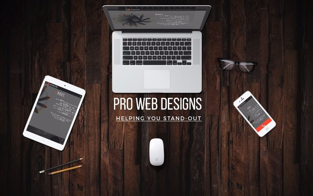 PROFESSIONAL WEB DESIGN | Your Pride, Your Competitor's