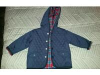3-6 MONTH NEXT PRISTINE BABY BOY BARBOUR LIKE JACKET