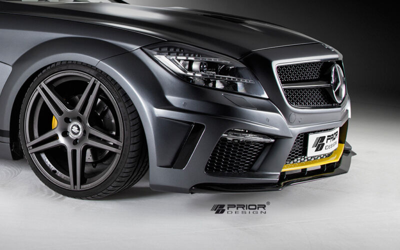 Mercedes Cls W218 Body Kit Front Bumper W/ Lip Splitter +grill Cls550 Cls63 Amg