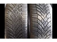 Part worn tyres 205×55×16 Winter tyres m+s - 41 new road rm138dr- open 7 days a week