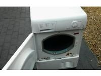Hotpoint condensing tumble dryer in new condition