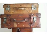 Bombay + Hong Kong Vintage Suitcases