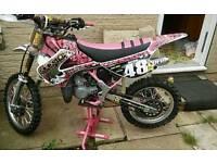 Kx 85 pink/white 2001 more like 2014 MINT........