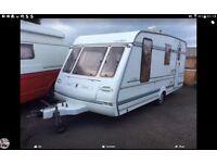 4 Berth Compass Calibra Caravan Genuine Quick Sale as need space for new Motorhome