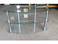 Clear Glass TV Unit #2