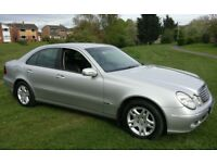 2003 MERCEDES E220 CDI DIESEL AUTOMATIC FULL SERVICE HISTORY LONG MOT