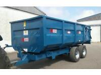 10 ton AS Marston grain trailer