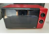 Metalic Red 700w MICROWAVE OVEN Power Adjustable LS4 COLLECTION