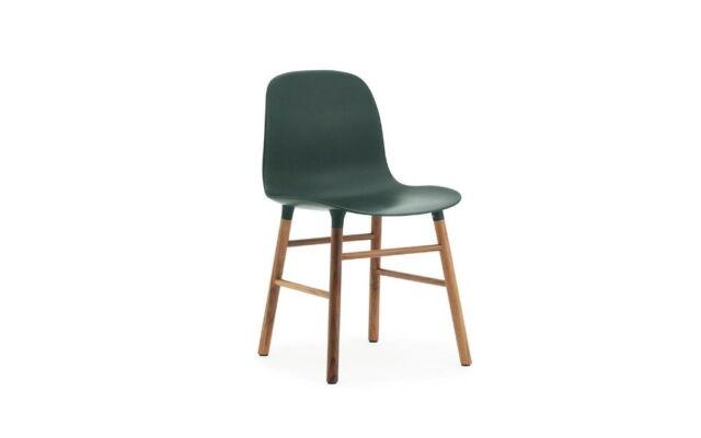 Fabulous Normann Copenhagen Form Chair In Dark Green Walnut In Morden London Gumtree Creativecarmelina Interior Chair Design Creativecarmelinacom