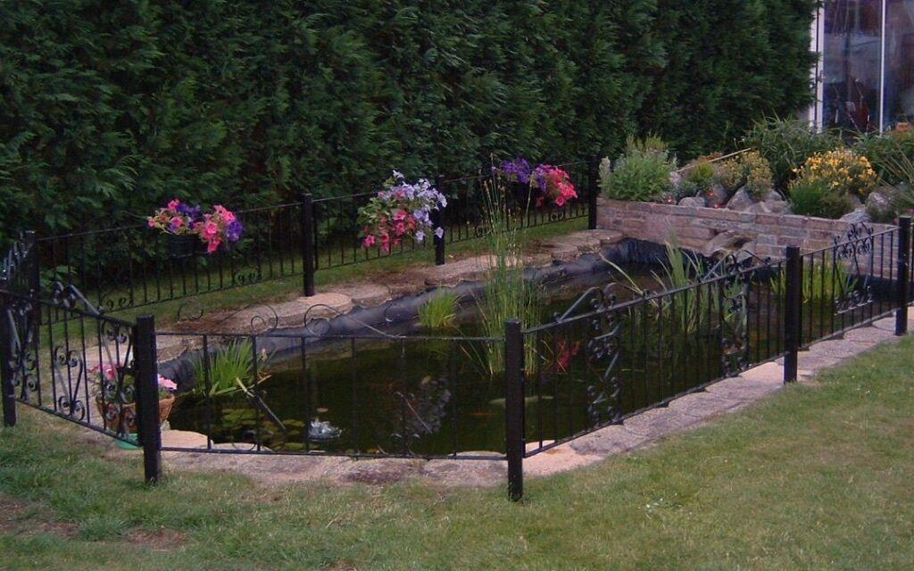 Garden Pond Fencing Garden Ftempo