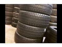 Part worn tyres / winter tyres in stock/ 235x65x16c - 41 new road rm138dr