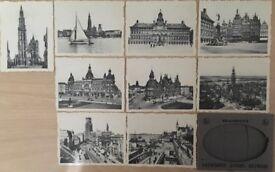 Vintage Postcard Set of Antwerp, Belgium