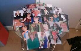 Princess diana postcards and cards