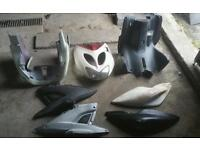 Aerox panels and headlight