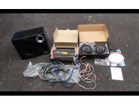 Car Stereo Vibe Amp sub speakers £80