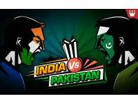 4 x INDIA VS PAKISTAN TICKETS - 04/06/17 - ICC CHAMPIONS TROPHY 2017