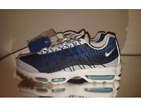 Nike Air Max 95 Ultra JCRD Jacquard Navy White Blue Size 8