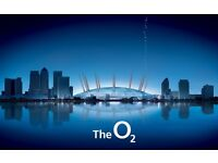 NY-LON @ The O2 are looking for casual event staff - Waiters / Waitresses / Bartenders