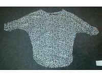 Quiz jumper size 10