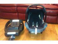 Maxi cosi car seat and easytone 2